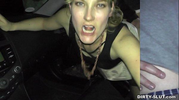 Nicole neukt met onbekenden op een rustplaats